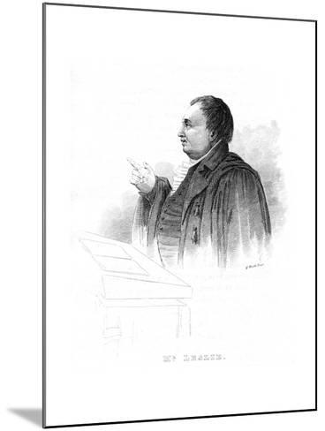 John Leslie (1766-183), Scottish Natural Philosopher and Physicist, Lecturing, 19th Century--Mounted Giclee Print