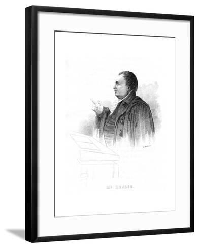 John Leslie (1766-183), Scottish Natural Philosopher and Physicist, Lecturing, 19th Century--Framed Art Print