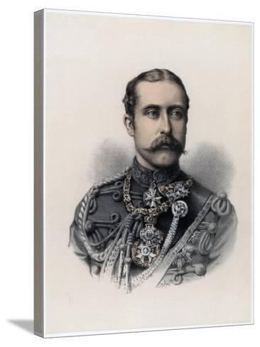 Prince Arthur, Duke of Connaught and Strathearn, 1879--Stretched Canvas Print