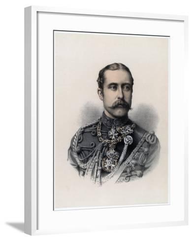 Prince Arthur, Duke of Connaught and Strathearn, 1879--Framed Art Print