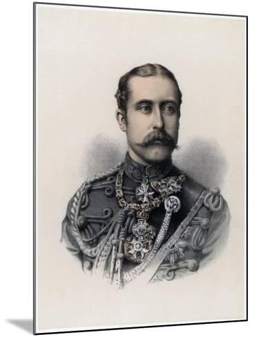 Prince Arthur, Duke of Connaught and Strathearn, 1879--Mounted Giclee Print