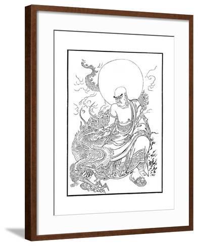 Arhat, Panthaka, 15th Century-Meicho Meicho-Framed Art Print