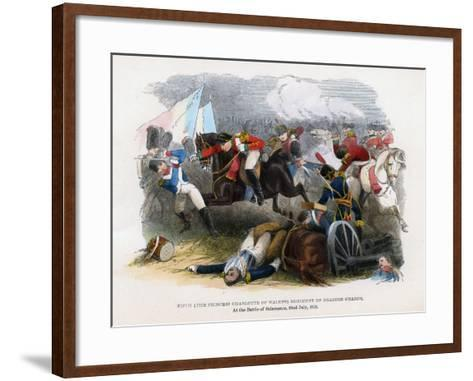 5th Regiment of Dragoon Guards, the Battle of Salamanca, 22nd July 1812--Framed Art Print