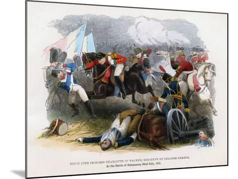 5th Regiment of Dragoon Guards, the Battle of Salamanca, 22nd July 1812--Mounted Giclee Print