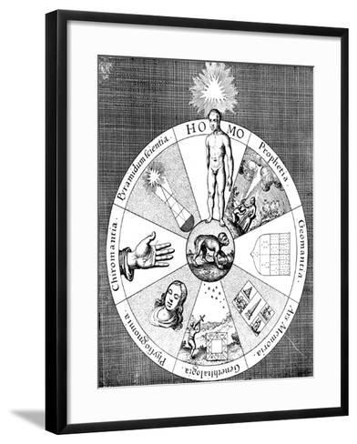 Synopsis of the Diviner's Arts, 1617-1619--Framed Art Print