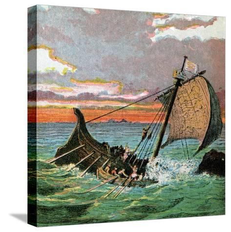 Wreck of the White Ship, 1120--Stretched Canvas Print