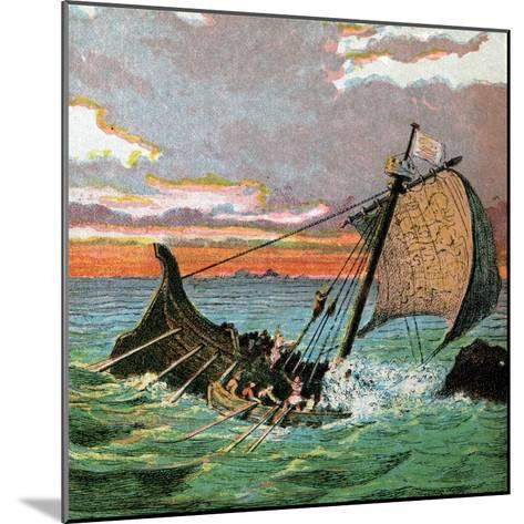 Wreck of the White Ship, 1120--Mounted Giclee Print