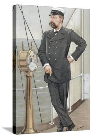 Albert I, Prince of Monaco (1848-192), Amateur Oceanographer, 1900-Spy-Stretched Canvas Print
