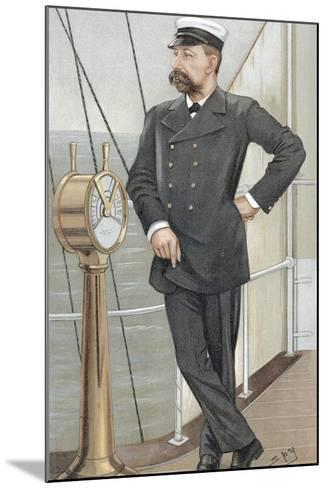 Albert I, Prince of Monaco (1848-192), Amateur Oceanographer, 1900-Spy-Mounted Giclee Print