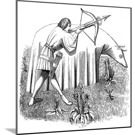 How to Carry a Cloth to Approach Beasts, 15th Century--Mounted Giclee Print