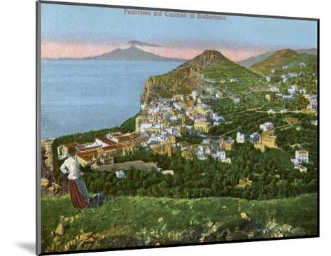 Panorama of the Castello Di Barbarossa, Capri, Italy, Early 20th Century--Mounted Giclee Print