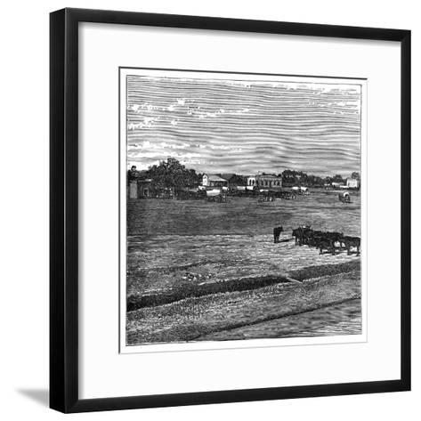 Potchefstroom, the Transvaal, South Africa, C1890--Framed Art Print