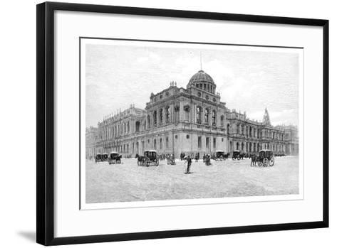 The Law Courts, Melbourne, Victoria, Australia, 1886--Framed Art Print
