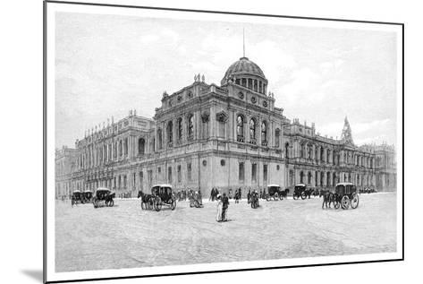 The Law Courts, Melbourne, Victoria, Australia, 1886--Mounted Giclee Print