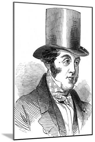 George Hudson, the Railway King, 1848--Mounted Giclee Print