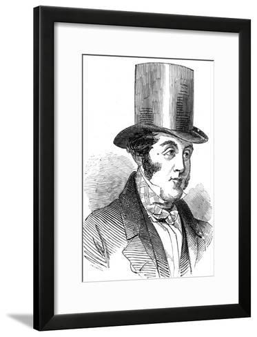George Hudson, the Railway King, 1848--Framed Art Print