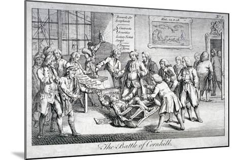The Battle of Cornhill, 1769--Mounted Giclee Print
