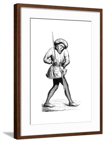 Grand Swiss Provost Marshal, 15th Century--Framed Art Print