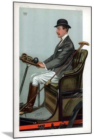 Cabs, 1903-Spy-Mounted Giclee Print