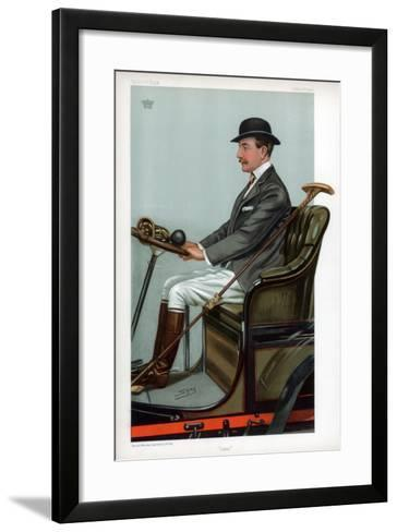 Cabs, 1903-Spy-Framed Art Print