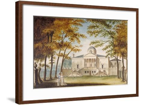 Chiswick House, Chiswick, Hounslow, London, C1810--Framed Art Print