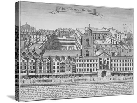 St Bartholomew's Hospital, Smithfield, City of London, 1723--Stretched Canvas Print