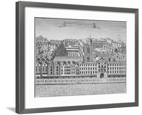 St Bartholomew's Hospital, Smithfield, City of London, 1723--Framed Art Print