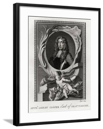 Anthony Ashley Cooper, Earl of Shaftesbury, 1777-Ryder-Framed Art Print