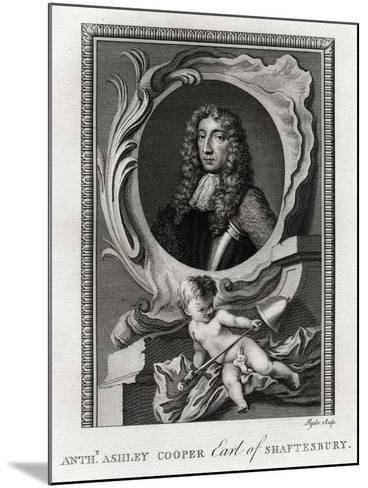 Anthony Ashley Cooper, Earl of Shaftesbury, 1777-Ryder-Mounted Giclee Print