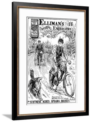 Advertisement for Elliman's Universal Embocation, 1895--Framed Art Print