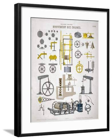 Movement of Solids, C1850--Framed Art Print