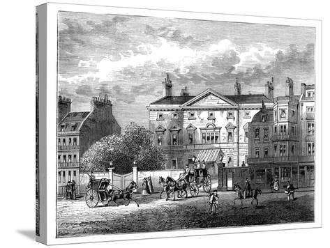 Cambridge House, Piccadilly, London, 1854--Stretched Canvas Print