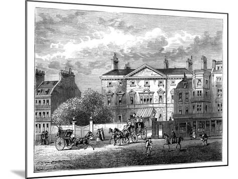 Cambridge House, Piccadilly, London, 1854--Mounted Giclee Print
