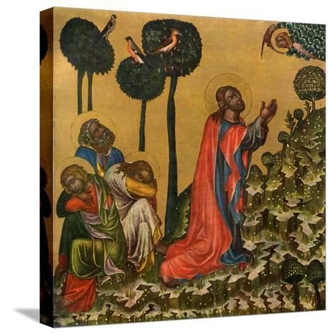 Jesus in the Olive Grove, C1350--Stretched Canvas Print