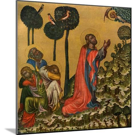 Jesus in the Olive Grove, C1350--Mounted Giclee Print