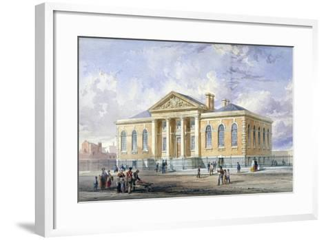 Lambeth Ragged School, Newport Street, Lambeth, London, 1851--Framed Art Print