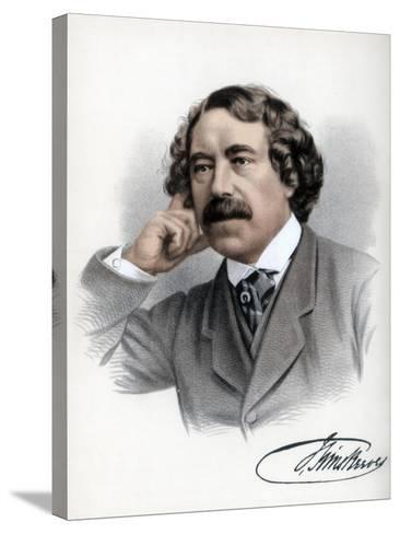 John Sims Reeves, English Vocalist, C1890-Petter & Galpin Cassell-Stretched Canvas Print
