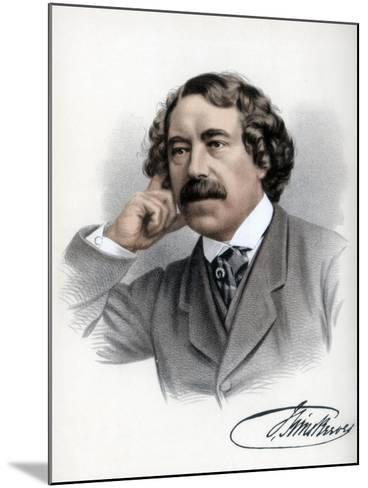 John Sims Reeves, English Vocalist, C1890-Petter & Galpin Cassell-Mounted Giclee Print
