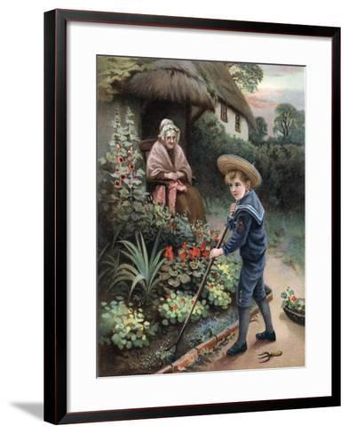 A Labour of Love, 1905--Framed Art Print