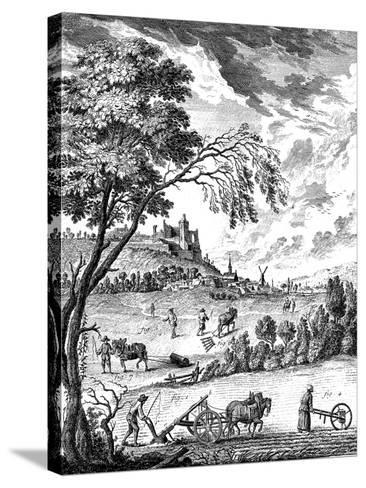 Agriculture, 1751-1780--Stretched Canvas Print