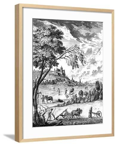 Agriculture, 1751-1780--Framed Art Print