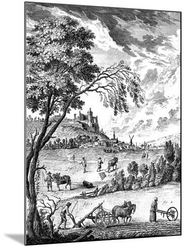 Agriculture, 1751-1780--Mounted Giclee Print