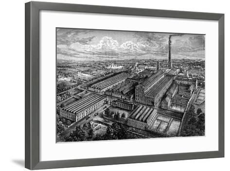 Camperdown Linen Works, Dundee, C1880--Framed Art Print