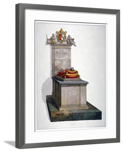 Tomb of Lancelot Andrews, St Saviour's Church, Southwark, London, 1764-Lancelot Andrews -Framed Art Print