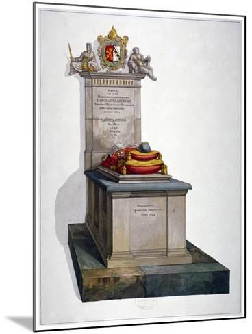Tomb of Lancelot Andrews, St Saviour's Church, Southwark, London, 1764-Lancelot Andrews -Mounted Giclee Print