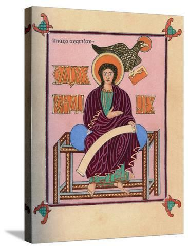 St John the Evangelist, 8th Century--Stretched Canvas Print