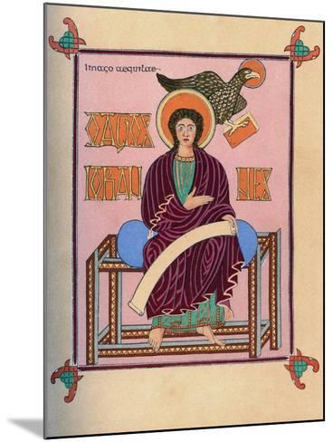 St John the Evangelist, 8th Century--Mounted Giclee Print