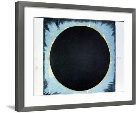Solar Corona and Prominences 1860--Framed Art Print