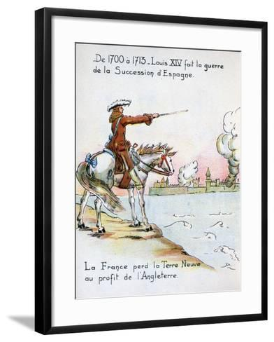 Louis XIV and the War of the Spanish Succession, 1700-1715--Framed Art Print