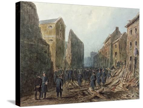 Corporation Row, Finsbury, London, C1867--Stretched Canvas Print